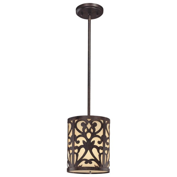Minka Lavery Nanti 1 Light Mini Pendant - Grey