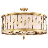 Minka Lavery Olivetas Pendant Convertible To Semi Flush - Gold