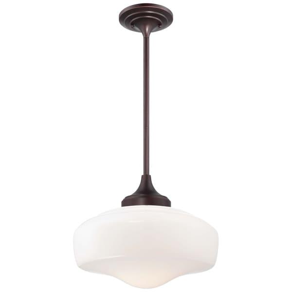Minka Lavery 1 Light Pendant - Bronze