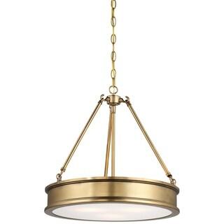 Minka Lavery Harbour Point 3 Light Pendant - Gold