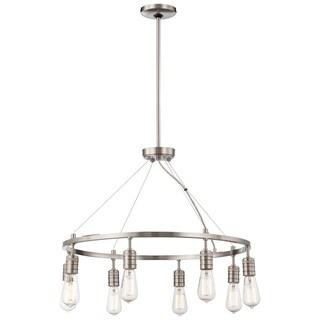 Minka Lavery Downtown Edison 8 Light Chandelier