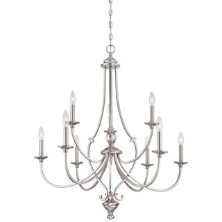 Minka Lavery Savannah Row 9 Light Chandelier
