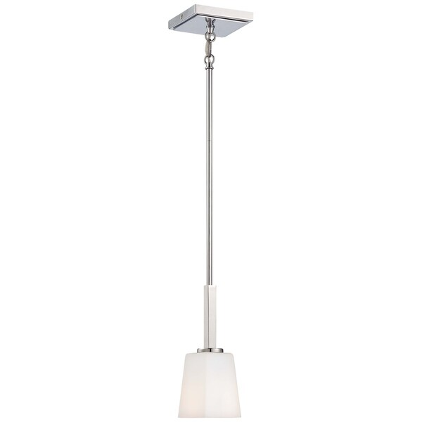 Minka Lavery City Square 1 Light Mini Pendant - Chrome