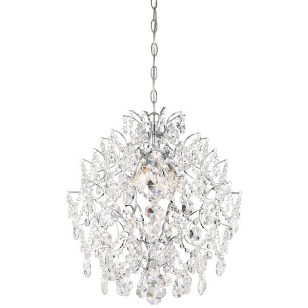 Minka Lavery Isabella'S Crown 4 Light Chandelier - Chrome