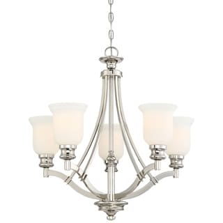 Link to Audrey'S Point Polished Nickel 5 Light Chandelier by Minka Lavery Similar Items in Recessed Lights