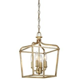 Minka Lavery Laurel Estate 4 Light Pendant - Gold