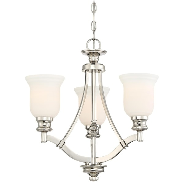 Minka Lavery Audrey'S Point 3 Light Chandelier - Silver