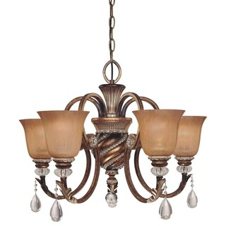 Minka Lavery Aston Court 5 Light Chandelier - Bronze