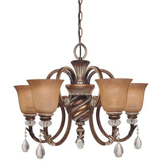Minka lavery chandeliers for less overstock minka lavery aston court 5 light chandelier bronze mozeypictures Image collections