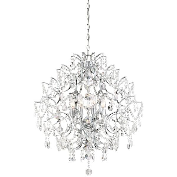 Minka Lavery Isabella'S Crown 8 Light Chandelier - Chrome