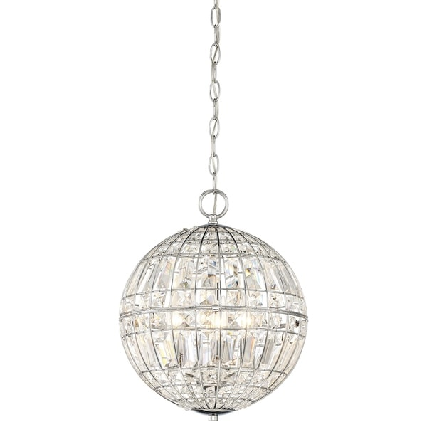 Minka Lavery Palermo 4 Light Pendant - Chrome