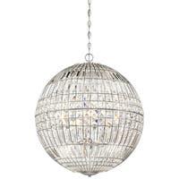 Minka Lavery Palermo 6 Light Pendant - Chrome