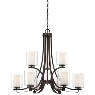Minka Lavery Parsons Studio 9 Light Chandelier