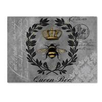 Jean Plout 'Queen Bee 2' Canvas Art