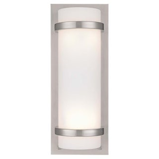Brushed Nickel 2 Light Wall Sconce By Minka Lavery