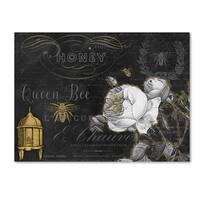 Jean Plout 'Queen Bee 1' Canvas Art