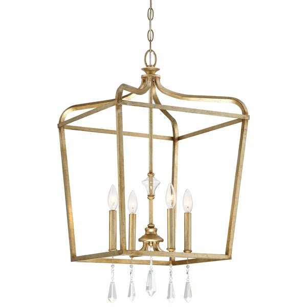 Minka Lavery Laurel Estate 4 Light Pendant - Gold