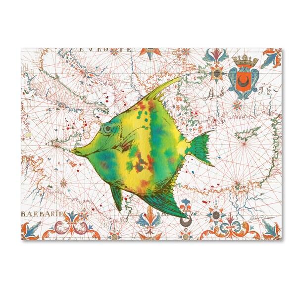 Jean Plout 'Nautical Treasures 16' Canvas Art 30065147
