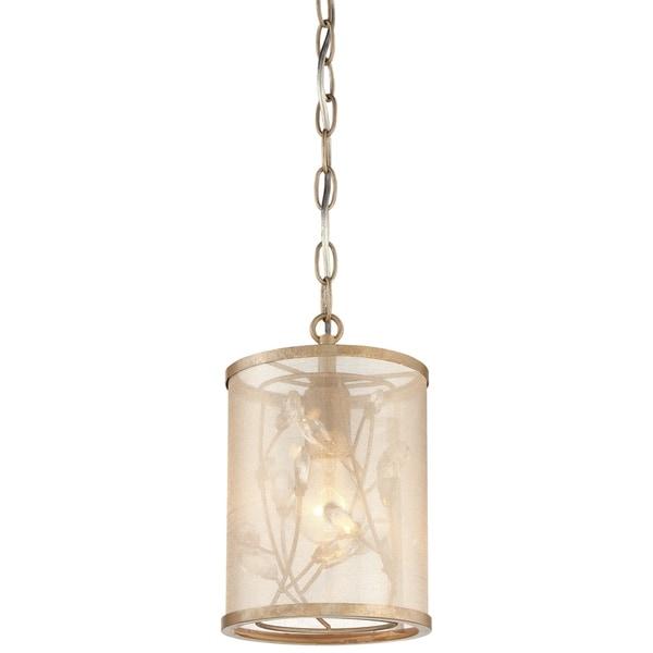 Minka Lavery Sara'S Jewel 1 Light Pendant - Silver