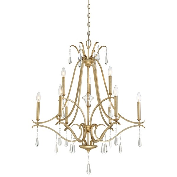 Minka lavery laurel estate 9 light chandelier free shipping today minka lavery laurel estate 9 light chandelier mozeypictures Images