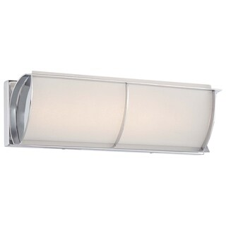 Minka Lavery Arlington Brooke Chrome Steel LED Bath Fixture