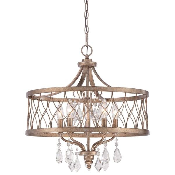 Minka Lavery West Liberty 5 Light Chandelier - Gold