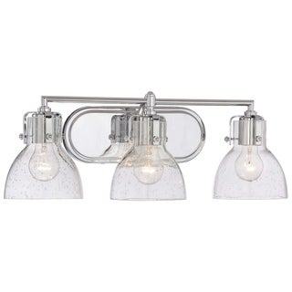 Link to Chrome 3 Light Bath by Minka Lavery Similar Items in Bathroom Vanity Lights