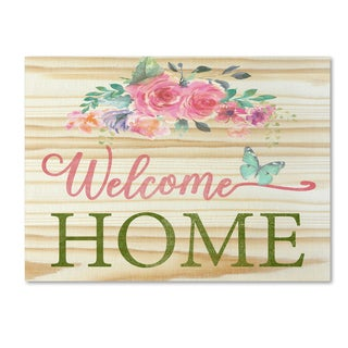 Jean Plout 'Welcome Home 1' Canvas Art