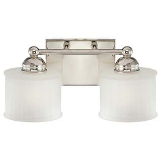 Link to 173Series Polished Nickel 2 Light Bath by Minka Lavery Similar Items in Bathroom Vanity Lights