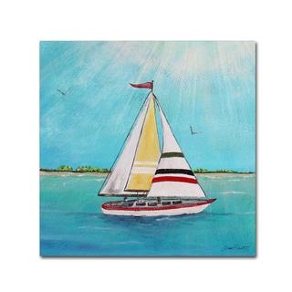 Jean Plout 'Summer Breeze 2' Canvas Art