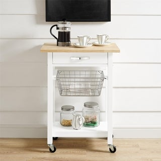 Avenue Greene Anna White Multifunction Cart