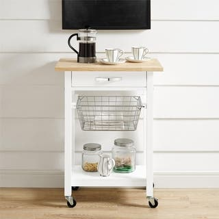 White Kitchen Carts For Less Overstock Com