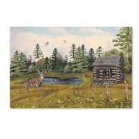 Jean Plout 'Wilderness Lodge 12' Canvas Art