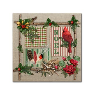Jean Plout 'Country Christmas 2' Canvas Art