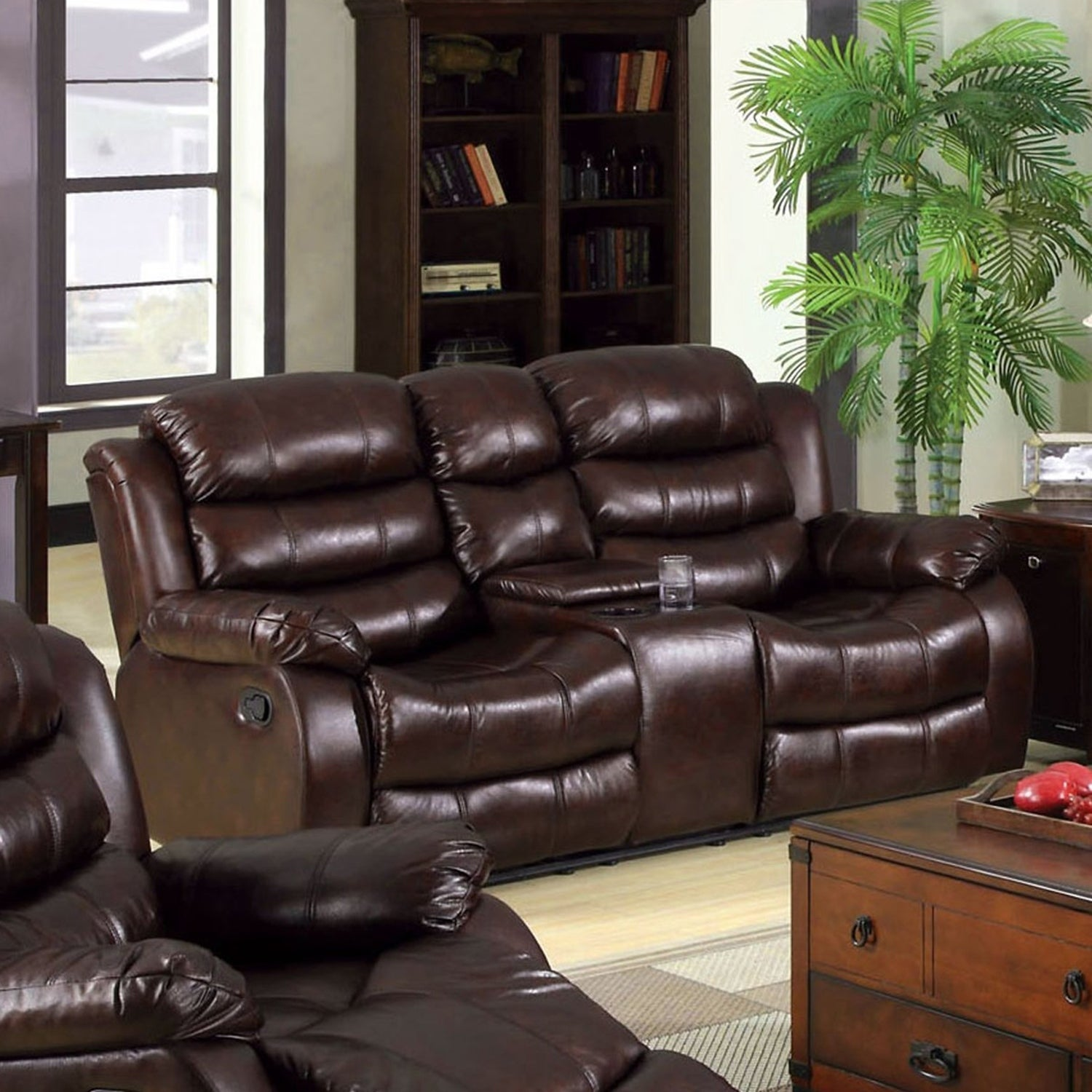 Phenomenal Berkshield Transitional Rustic Brown Reclining Loveseat By Foa Andrewgaddart Wooden Chair Designs For Living Room Andrewgaddartcom
