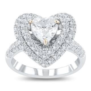 Auriya 14k White Gold Certified 1 7/8ct TDW Diamond Ring - White G-H|https://ak1.ostkcdn.com/images/products/18047659/P24212447.jpg?impolicy=medium