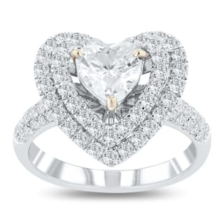 Buy Heart Engagement Rings Online at Overstock.com | Our Best ...