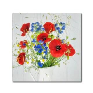 Cora Niele 'Wildflower Bouquet' Canvas Art