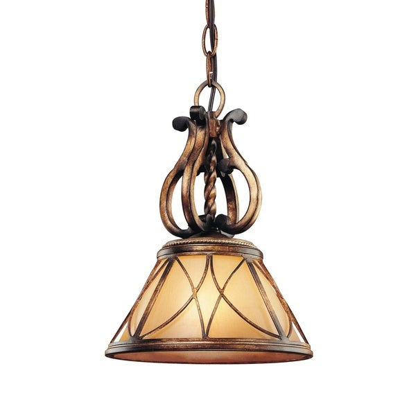 Minka Lavery Aston Court 1 Light Mini Pendant - Bronze