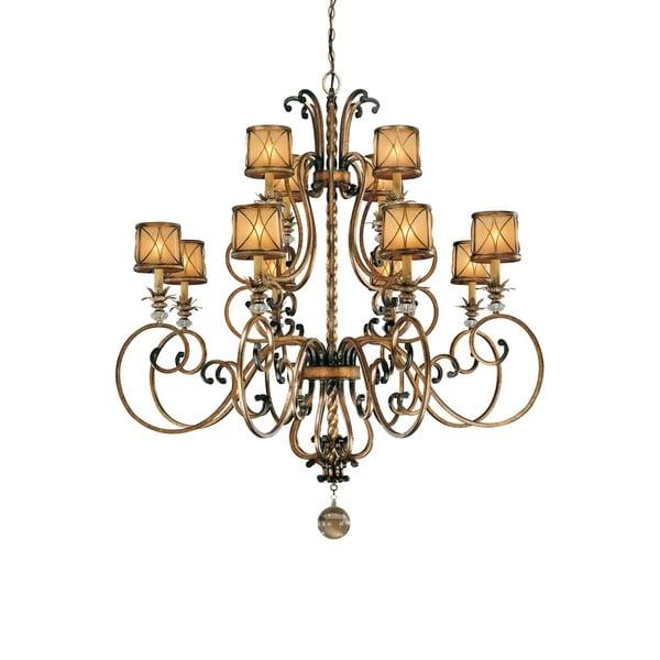 Minka Lavery Aston Court 12 Light Chandelier - Bronze