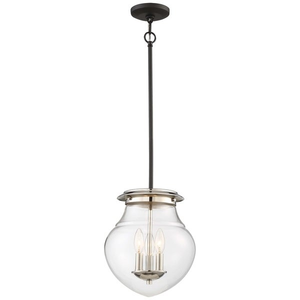 Minka Lavery The Cape Semi Flush (Convertible To Mini Pendant) - Grey