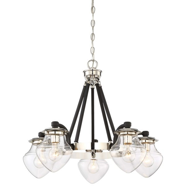 Minka Lavery The Cape 5 Light Chandelier - Grey