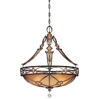 Minka Lavery Aston Court 3 Light Pendant - Bronze