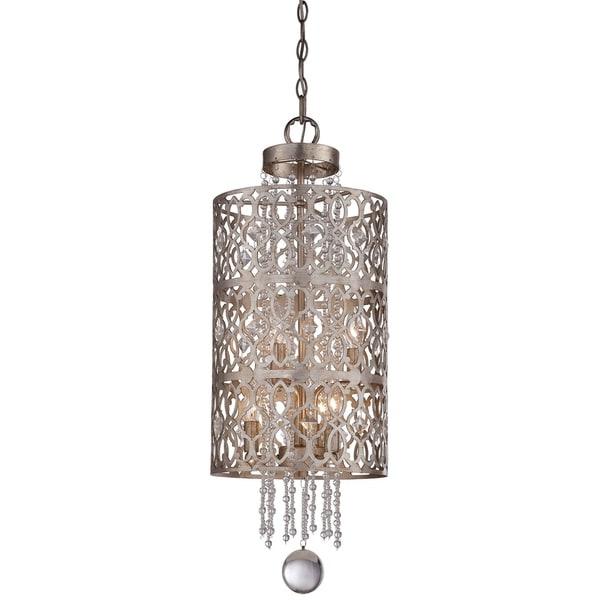 Minka Lavery Lucero 6 Light Pendant - Silver
