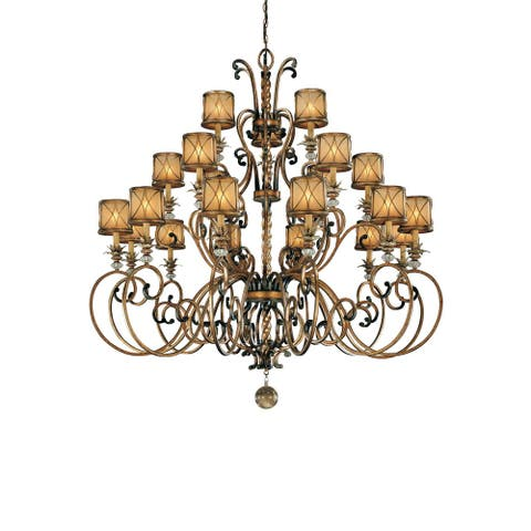 Aston Court Aston Court Bronze 21 Light Chandelier by Minka Lavery