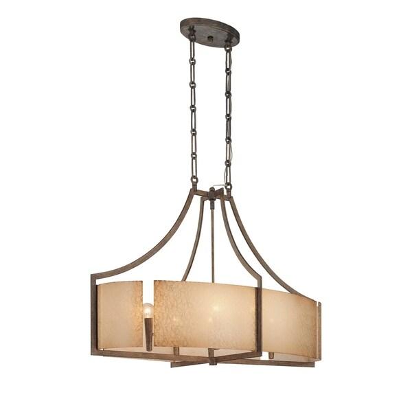 Minka Lavery Clarte 6 Light Oval Pendant