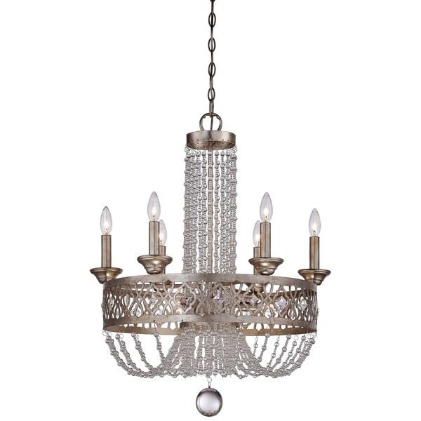 Minka Lavery Lucero 9 Light Chandelier - Silver