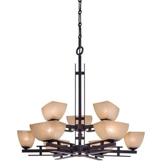 Minka Lavery Lineage 9 Light Chandelier