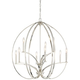 Minka Lavery Tilbury 9 Light Chandelier