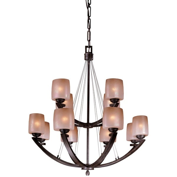 Minka Lavery Raiden 12 Light Chandelier